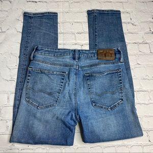 American Eagle Flex Slim Button Fly Jeans 30x30